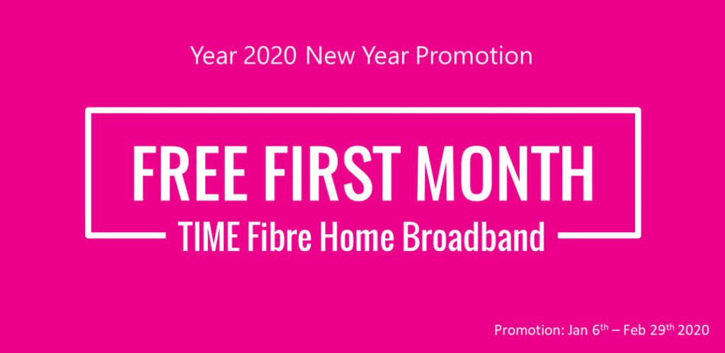 time fibre promotion